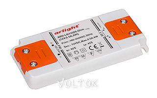 Блок питания ARV-LB12006-Slim (12V, 0.5A, 6W)