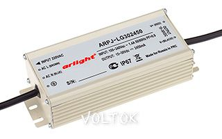Блок питания ARPJ-LG362100 (75W, 2100mA, PFC)