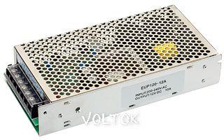 Блок питания EUC-120-12-DIM-0/10V (12V, 10A, 120W)