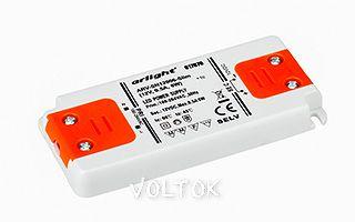 Блок питания ARV-SN12006-Slim (12V, 0.5A, 6W)
