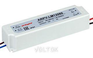 Блок питания ARPV-LM12060 (12V, 5A, 60W)