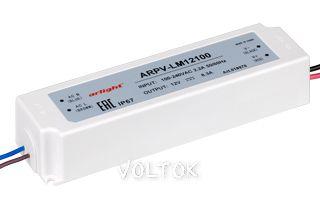 Блок питания ARPV-LM12100 (12V, 8.3A, 100W)