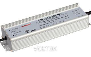 Блок питания ARPV-ST24200 PFC (24V, 8.3A, 200W)