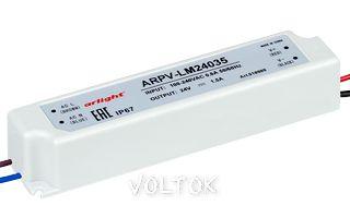 Блок питания ARPV-LM24035 (24V, 1.5A, 36W)