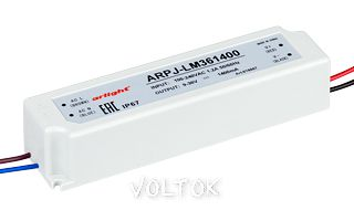 Блок питания ARPJ-LM361400 (50W, 1400mA)