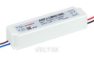 Блок питания ARPJ-LM421400 (60W, 1400mA)