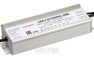 Блок питания ARPJ-ST362650-DIM (100W, 2650mA, PFC)