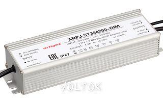 Блок питания ARPJ-ST364200-DIM (150W, 4200mA, PFC)