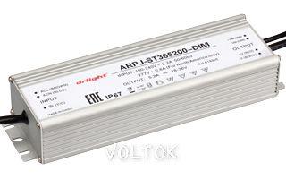 Блок питания ARPJ-ST365200-DIM (185W, 5200mA, PFC)