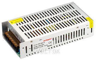 Блок питания JTS-200-12 (0-12V, 16.7A, 200W)