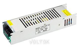 Блок питания JTS-150L-12 (12V, 12.5A, 150W)
