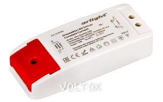 Блок питания ARJ-LK22450-DIM (10W, 450mA, PFC, Triac)