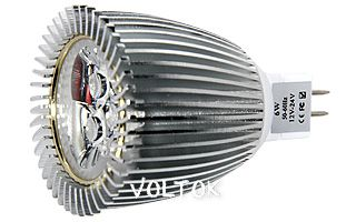 Светодиодная лампа ECOSPOT MR16 A5-3x2W White 45DEG