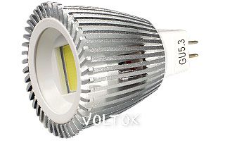 Светодиодная лампа ECOSPOT MR16 6W MDS-2003 Warm 80deg