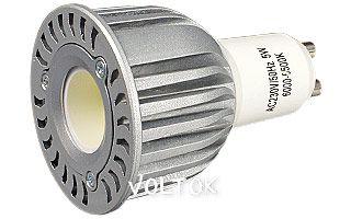 Светодиодная лампа ECOSPOT GU10 5W MDS-1006 Warm 80deg