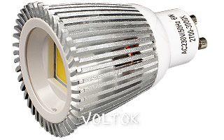 Светодиодная лампа ECOSPOT GU10 6W MDS-2003 Warm 80deg