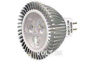 Светодиодная лампа ECOSPOT MR16 3.6W MDS-M16-4003 Warm 45deg