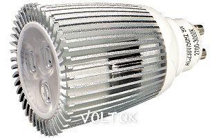 Светодиодная лампа ECOSPOT GU10 8W MDS-2006 Warm 45deg