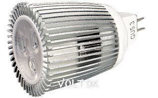 Светодиодная лампа ECOSPOT MR16 8W MDS-2006 White 45deg