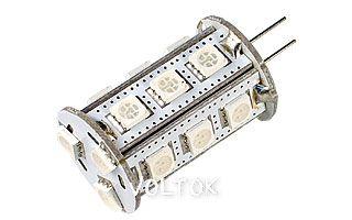 Светодиодная лампа AR-G4-18B2234-12V Green