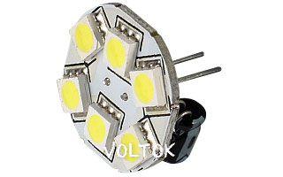 Светодиодная лампа AR-G4BP-6B23-12V White