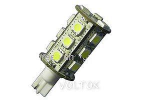 Автолампа ARL-T10-18B White (10-30V, 18 LED 5050)
