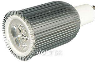Светодиодная лампа ECOSPOT GU10-3SP3-6W-220V White