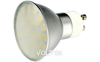 Светодиодная лампа GU10 EX-AL-Cover-4.8W Day White