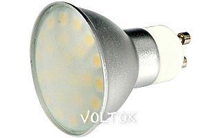 Светодиодная лампа GU10 EX-AL-Cover-4.8W White