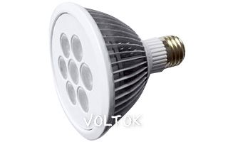 Светодиодная лампа E27 MDSV-PAR30-7x2W 35deg Warm White