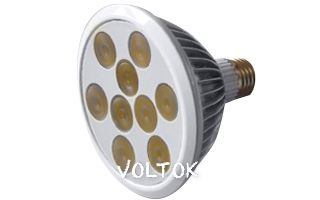 Светодиодная лампа E27 MDSV-PAR30-9x1W 35deg Warm White