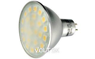 Светодиодная лампа MR16 220V EX-AL-Cover-4.8W White