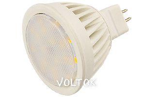 Светодиодная лампа MR16 220V MDS-1003-5W Warm White