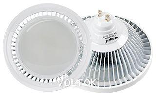 Светодиодная лампа MDSL-AR111-GU10-12W 120deg Warm White 220V