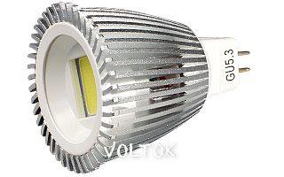 Светодиодная лампа ECOSPOT MR16 6W MDS-2003 Day White 80deg