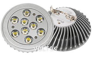 Светодиодная лампа MDS-AR111-9x1W 35deg Day White 12V