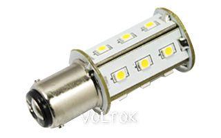 Автолампа BA15S 18-LED2835-12V White