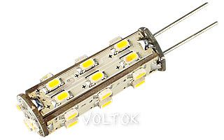 Светодиодная лампа AR-G4-27N-2W-12V Warm White