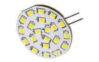 Светодиодная лампа AR-G4-21E35-12VDC White