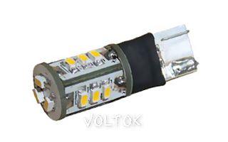 Автолампа ARL-T10-15S White (10-30V, 15 LED 3014)