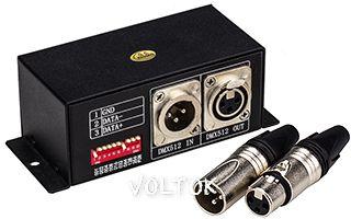 DMX-декодер LW-2801 (12/24V, 170 pix)