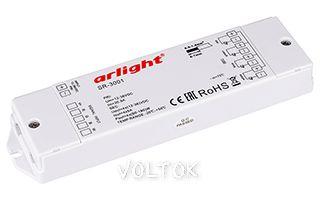 RGB-усилитель SR-3001 (12-36V, 240-720W, 4CH)