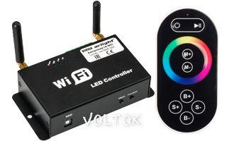 Контроллер LN-WiFi (12/24V, 144/288W, ПДУ)