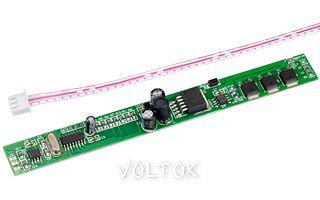 Декодер LN-DMX-BAR (12/24V, 144/288W)