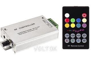 Аудиоконтроллер AL-RF18B (12/24V,144/288W,ПДУ18кн)