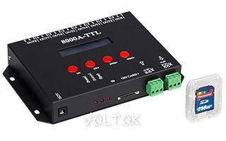 Контроллер RA-8000A (8192 pix, 220V, SD-карта)