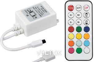 Контроллер CS-IR21B-12 (12V, 72W, ПДУ 21кн)