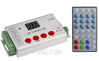Контроллер HX-801SE (8192 pix, 5-24V, SD-карта,ПДУ