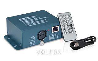 Контроллер DMX-Q01 (USB, 132 канала, ПДУ 18кн)
