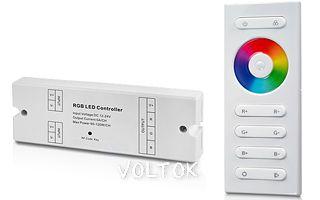 Контроллер SR-RF10B (12-24V, 180-360W, ПДУ 10кн)